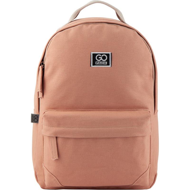 Рюкзак GoPack Сity 147-1 рожевий |44644