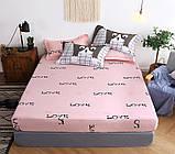 Комплект постельного белья с компаньоном S397, фото 2