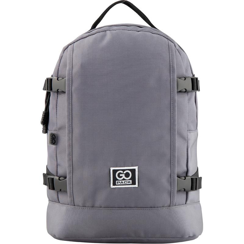 Рюкзак GoPack Сity 148-3 сірий |44651