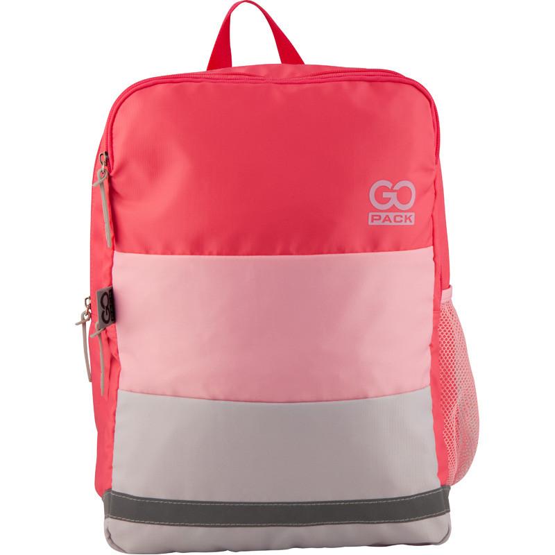 Рюкзак GoPack Сity 158-2 розовый  44662