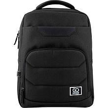 Рюкзак GoPack Сity 144-2 черный |44636
