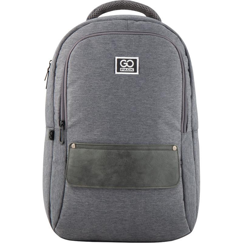 Рюкзак GoPack Сity 152-1 серый  44639