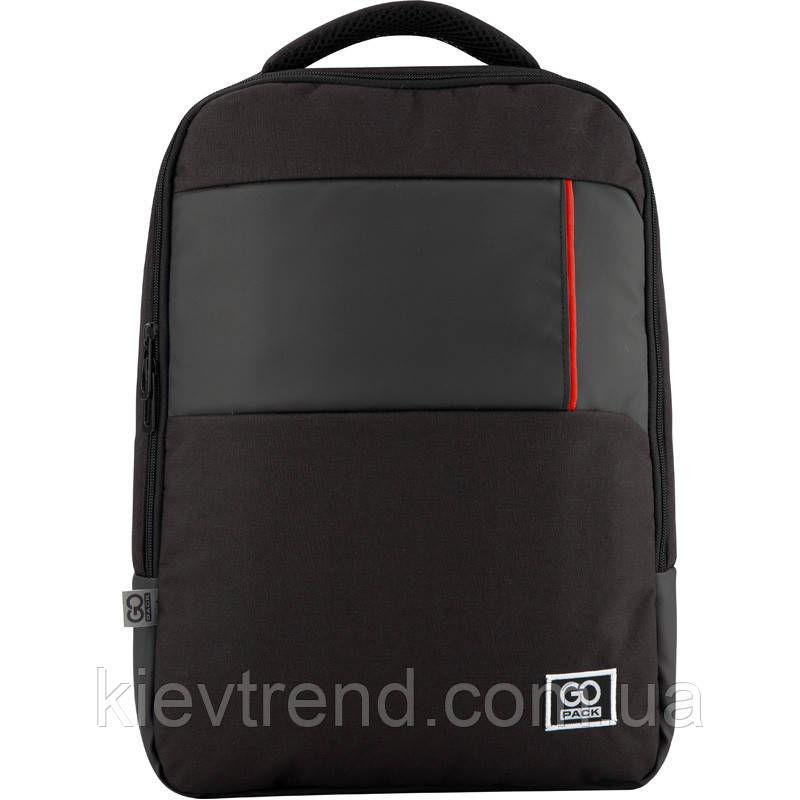 Рюкзак GoPack Сity 153-2 черный |44642