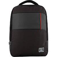 Рюкзак GoPack Сity 153-2 черный |44642, фото 1