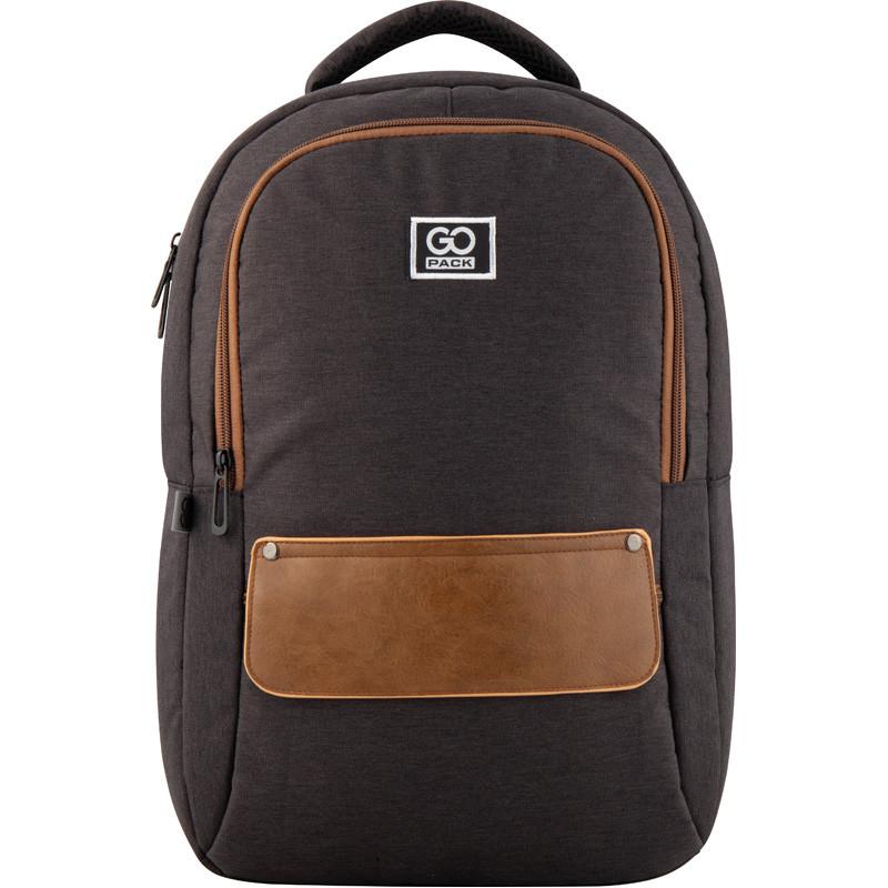 Рюкзак GoPack Сity 152-2 коричневий  44640