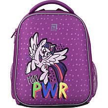Рюкзак Kite Education для первоклассника с ортопедической спинкой каркасный  555 Маленькие пони Little Pony LP |44339