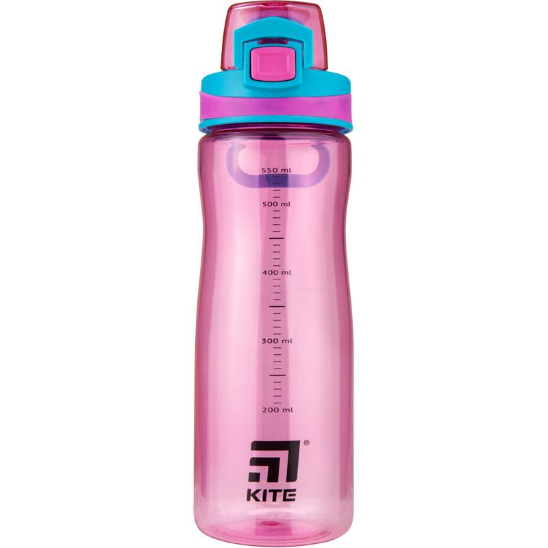 Бутылочка для воды, 650 мл., розовая  44143