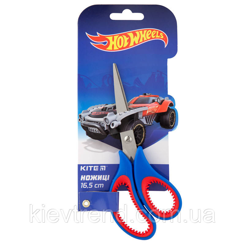 Ножницы детские, 16,5см Хот Вилс Hot Wheels HW  40521