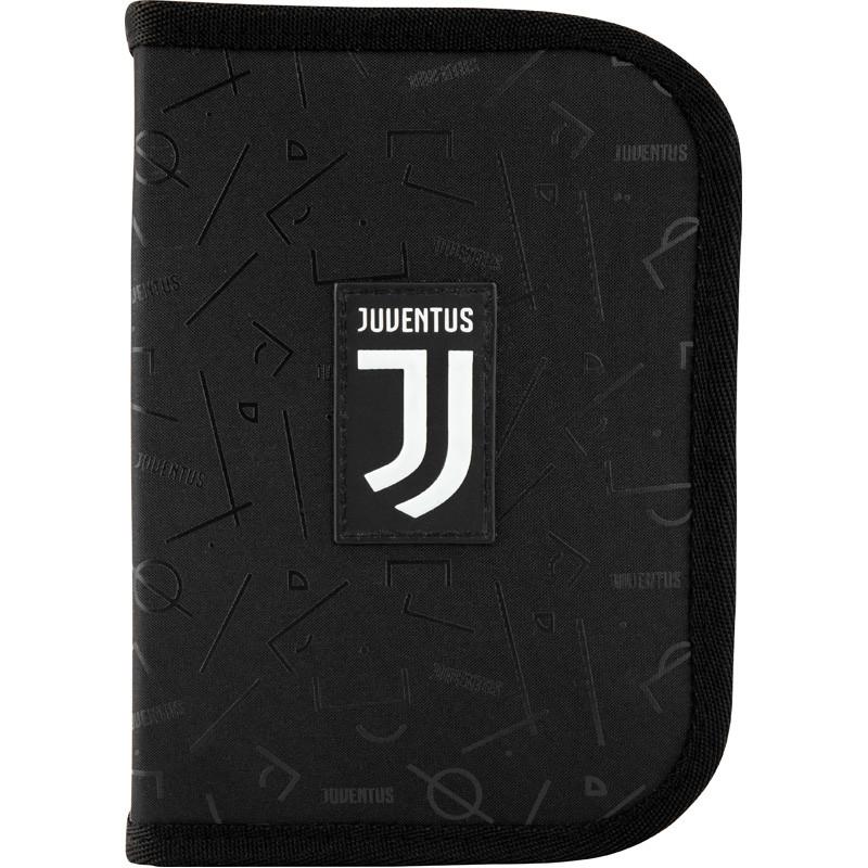 Пенал Kite на 1 отделение , 2 отворота , с наполнением 622 Ювентус Juventus JV  45033
