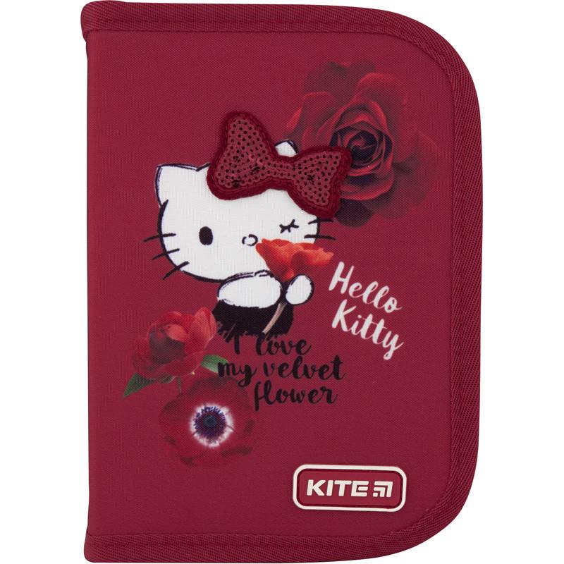 Пенал Kite на 1 отделение , 1 отворот , без наполнения 621 Хелло Китти Hello Kitty HK-1 |44976