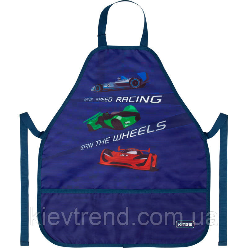 Фартук детский для труда Kite 161 Fast cars  45042