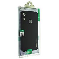 Силиконовый чехол SMTT для Honor 8A защитный бампер накладка телефона Черный матовый