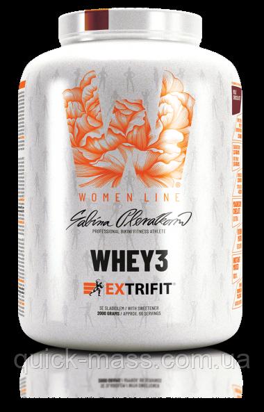 Женский протеин Women Line Extrifit Whey 3 2000g