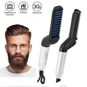 Щипцы для волос и бороды BEARD STRAIGHTENER, фото 2