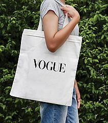 Сумка-шоппер з яскравим принтом Vogue