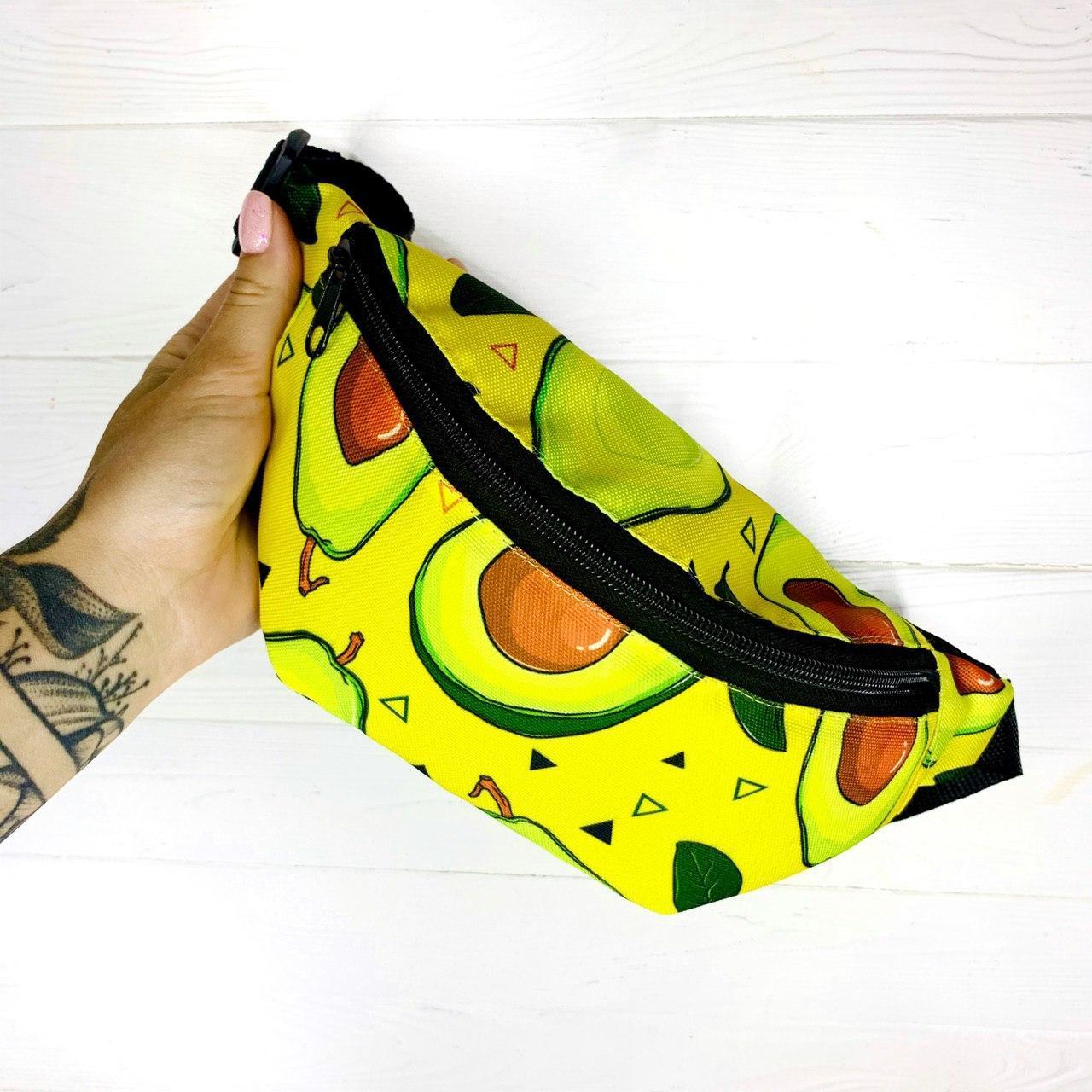 Бананка Avocado Мужская/ Женская/ Детская Авокадо желтая Intruder
