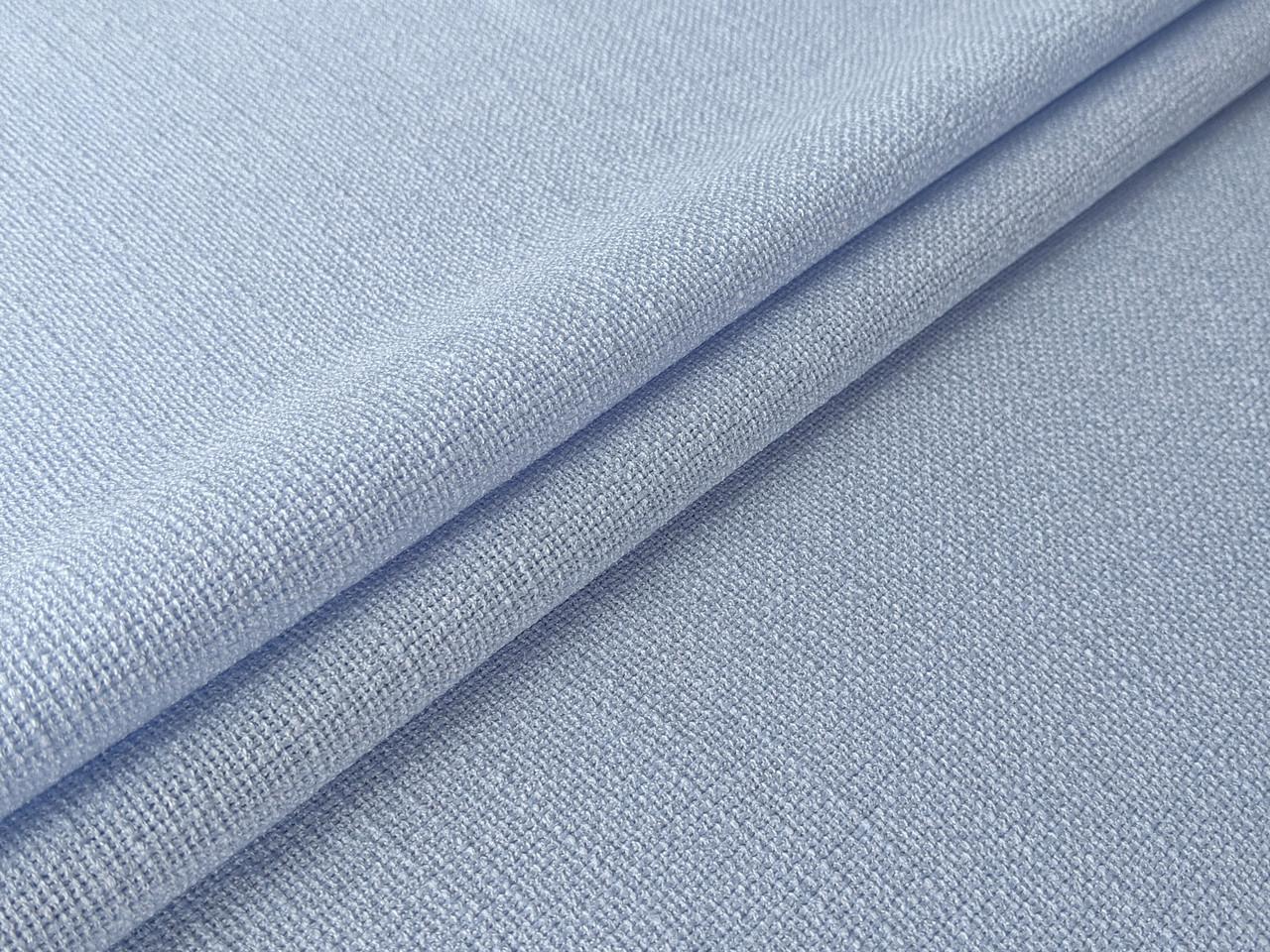 Джутовый лен, светло-голубой