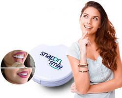 Съемные виниры для зубов Snap On Smile с кейсом