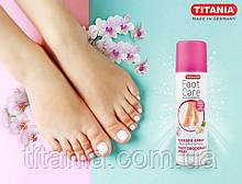 Спрей для ступней ног дезодорирующий 200 мл Titania art.5331