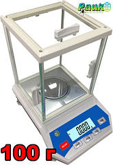 Лабораторные весы ФEH-В на 100 г, аналитические весы лабораторные