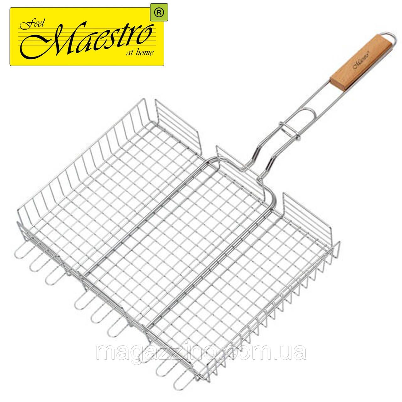 Решетка-гриль Maestro MR-1003, 40х30 см.