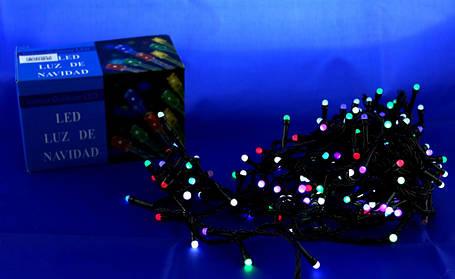 Світлодіодна LED гірлянда Xmas 100 M-4 RGB (кольорові діоди), фото 2