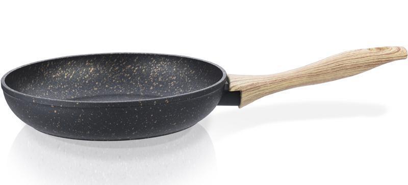 Сковорода Fissman Black Cosmic Ø28см с покрытием Platinum