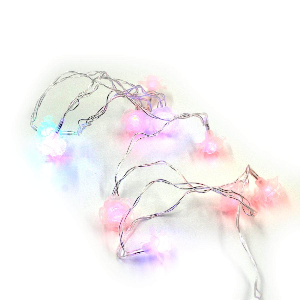 Xmas гірлянда LED 20 Parts-6 квіточка трояндочка(ПРОДАЄТЬСЯ ТІЛЬКИ ЯЩИКОМ!!!)