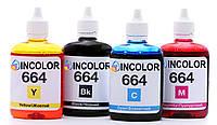 Чернила для Epson L365 4 x 100 мл BK/C/M/Y (hub_NRAV51002) (epson_4x100_196) Комплект чернил InColor  , фото 1