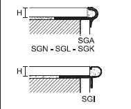 Профили Prostep SGA/