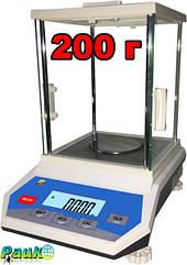 Весы лабораторные ФEH-В на 200 г, аналитические электронные весы