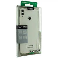 Силиконовый чехол SMTT для Honor 8X защитный бампер накладка телефона Прозрачный