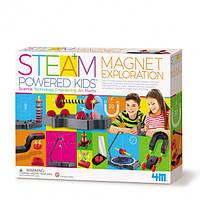 """STEM-набор 4М """"Магнитные приключения """" 25 экспериментов"""