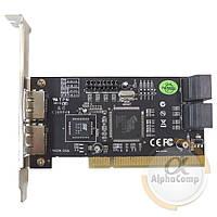 Контроллер PCI - SATA/eSATA STLab A-214 (EXT: 2×eSATA, INT: 4xSATA) БУ