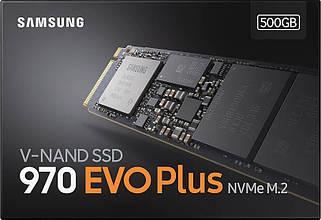 SSD-накопитель Samsung 970 Evo Plus 500GB M.2 PCIe 3.0 x4 V-NAND MLC (MZ-V7S500BW) Original
