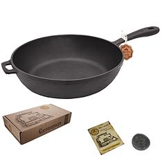 Сковорода чугунная 28 см SNT Т-204