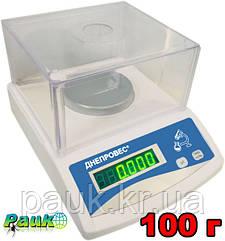 Лабораторные весы ФEH-С на 100 г, весы электронные аналитические