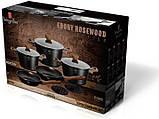 Набор кухонной посуды Berlinger Haus Ebony Rosewood 10 предметов, фото 2