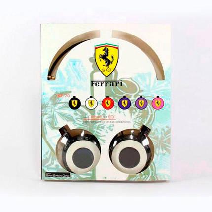 Навушники KZ 70 Ferarri style, фото 2