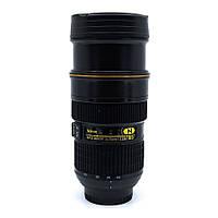 Чашка термо объектив NICAN Cup с подогревом от прикуривателя (Black) | Термо-кружка объектив NIKON