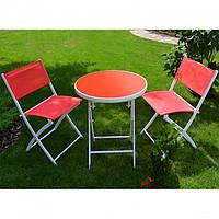 Комплект садовой мебели стол и 2 стула