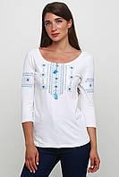 Современные вышиванки Женская Белая M-711-8