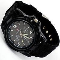 Наручные мужские кварцевые часы SwissArmy черные
