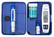 Система для измерения уровня глюкозы в крови (глюкометр) longevita smart