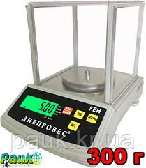 Весы лабораторно-ювелирные, FEH до 300 г, весы электронные Днепровес