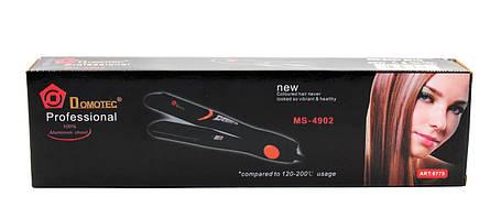 Щипці для волосся domotec MS 4902 (випрямляч/праска), фото 2