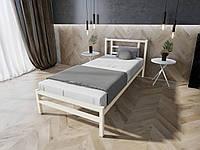 Кровать MELBI Берта Односпальная 90200 см Бежевый КМ-023-01-4беж, КОД: 1394026