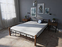 Кровать MELBI Элизабет Двуспальная 160190 см Коричневый КМ-005-02-3кор, КОД: 1398735