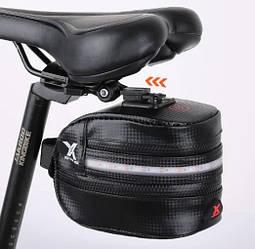 Велосумка с подсветкой BG-2503B Подседельная сумка