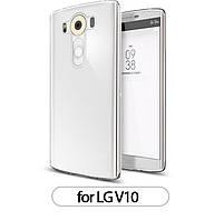 Ультратонкий силиконовый прозрачный чехолдля LG V10 (H961S)